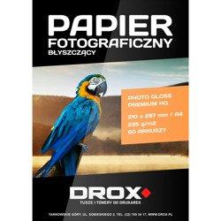 Papier fotograficzny błyszczący A4 235g/m2 50 arkuszy