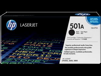 Toner oryginalny HP 501A, Q6470A
