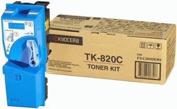 Toner oryginalny Kyocera TK-820C
