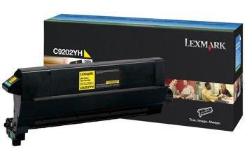 Toner oryginalny Lexmark C9202YH