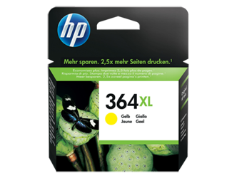 Tusz oryginalny HP 364XL Y (CB325EE)