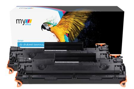 2 x Toner HP CE285A zamiennik My Office (dwupak)