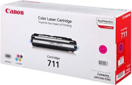 Toner oryginalny Canon 711M
