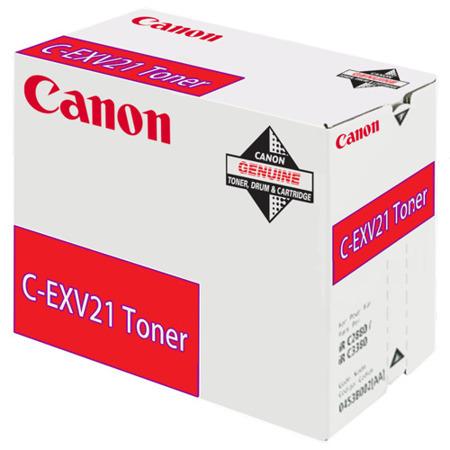 Toner oryginalny Canon C-EXV21M