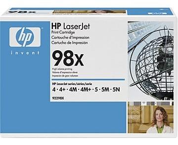 Toner oryginalny HP 98X, 92298X