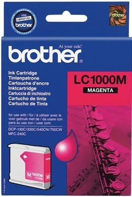 Tusz oryginalny Brother LC1000M