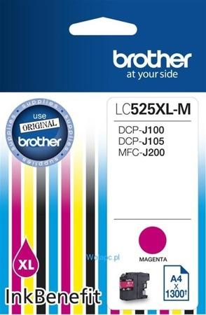 Tusz oryginalny Brother LC525XLM
