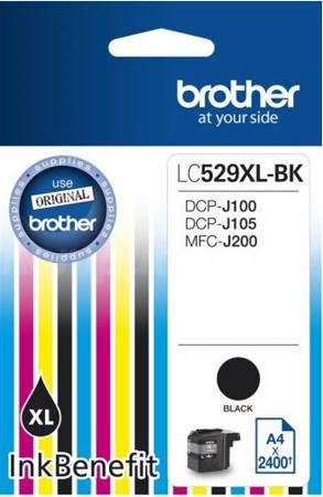 Tusz oryginalny Brother LC529XLBK