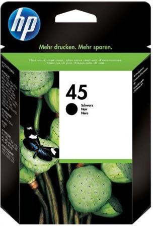 Tusz oryginalny HP 45 BK (51645AE)